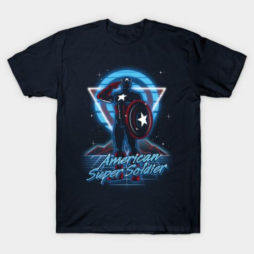 American Super Soldier T-Shirt ZK01