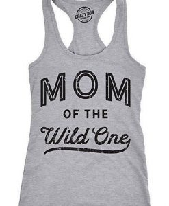 Mom Of The Wild One Tanktop ZK01