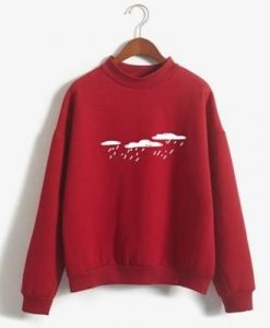 Rain Printed Sweatshirt LP01