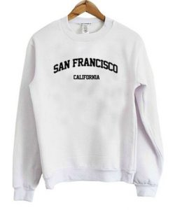 San Francisco California Sweatshirt LP01