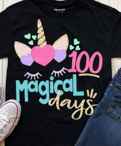 100 Magical Days School T-Shirt SR01