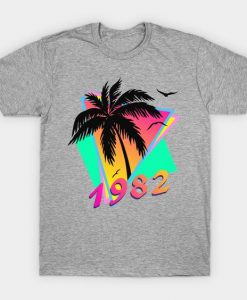 1982 Tropical Sunset T-Shirt EL01
