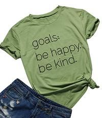 Be Happy Be Kind T-shirt ZK01