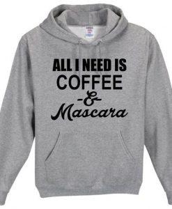Coffee and Mascara Hoodie AV01