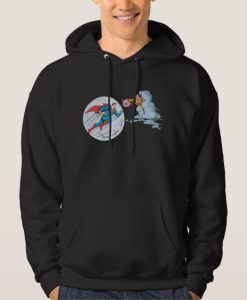 Superman Trapped Hoodie AD01