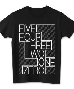 Zero Black T-shirt ZK01
