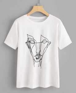 Abstract Graffiti T Shirt SR01