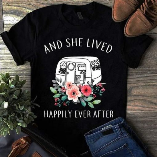 And She Lived T Shirt SR01