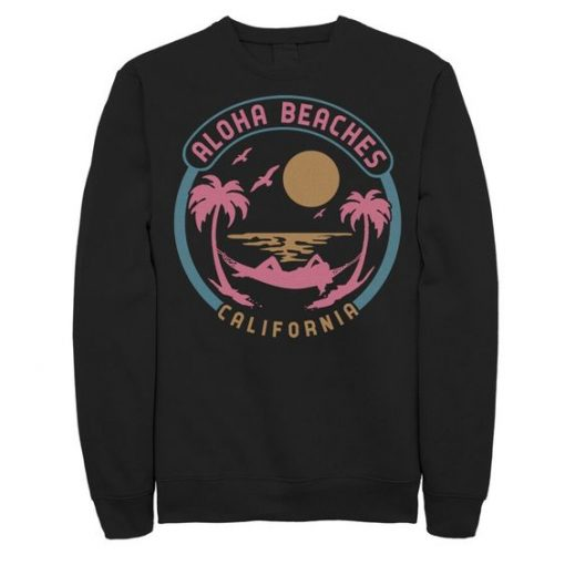 Aloha Beaches California Sweatshirt SR01