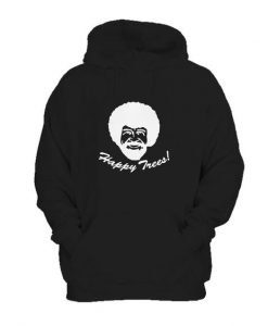 Bob Ross Happy Trees Hoodie EL29