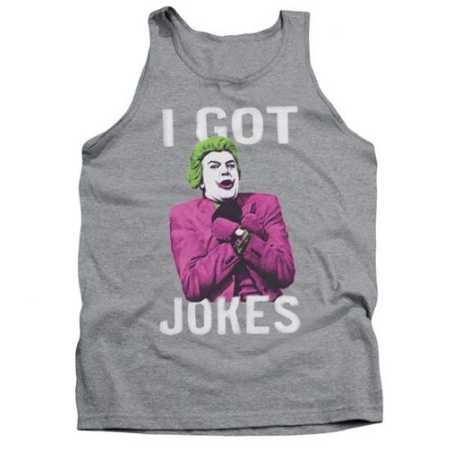 Joker Got Jokes Adult Tank Top AZ01