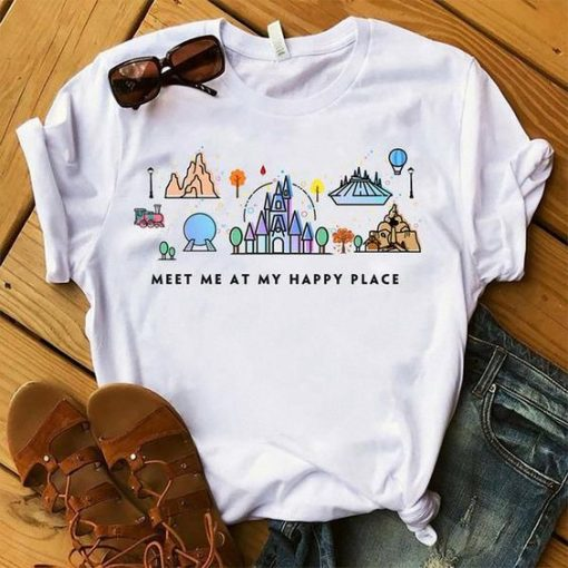 Meet Me At My Happy Place T-Shirt EL01