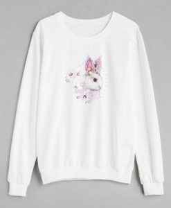 Rabbit Print Sweatshirt AZ01