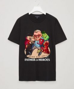 A Father Of Heroes T Shirt EL4N