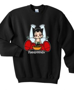 Astro boy blazed sweatshirt FD30N