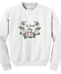 Rose White Sweatshirt FD30N