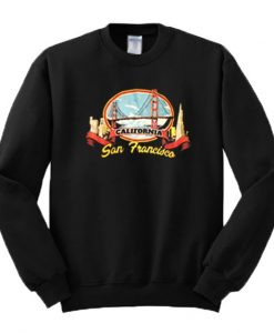 San Francisco California Sweatshirt FD30N
