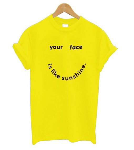 Your Face T Shirt SR7N