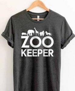 Zoo Keeper Animal T Shirt FD4N