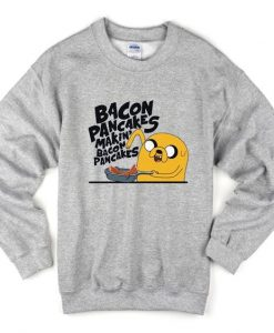 bacon pancakes makin' swearshirt AY21N