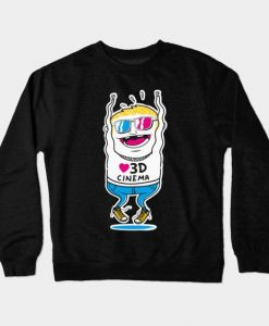 3D Cinema Movie Sweatshirt SR3D