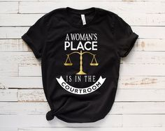 A Womans In Place Tshirt EL18D
