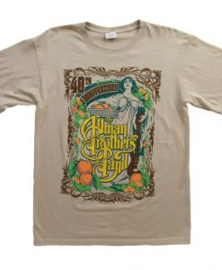 Allman Brothers Band T-Shirt DN23D