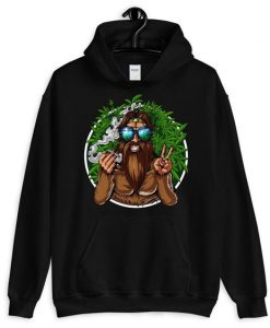 Bigfoot Smoking Hoodie EL9D
