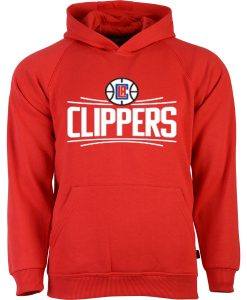 Clippers Red Hoodie FD7D