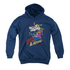 Cow And Chicken Hoodie EL9D