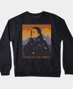 Queen in the North Sweatshirt SR3D
