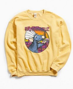Ratatoule Yellow Sweatshirt VL21D