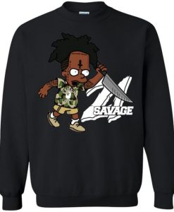 Savage Bart Sweatshirt EL5D