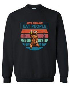 Save Animals Sweatshirt SR3D