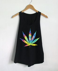 Weed Cannabis Tank Top EL18D
