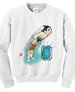 astro boy diamond sweatshirt FD4D