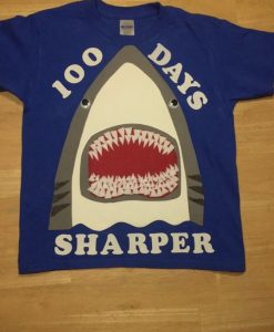100 days Sharper Tshirt FD17J0