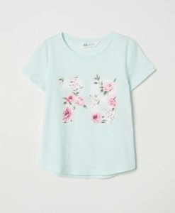 78 Flower Cute T-Shirt ND23J0