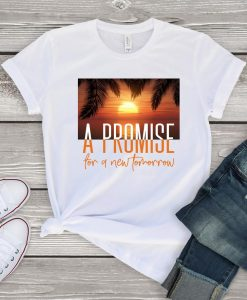 A Promise Sunset T Shirt SR13J0