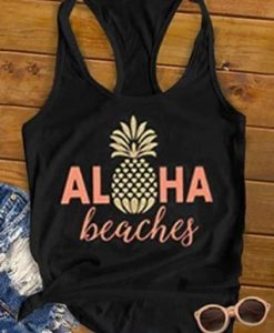 Aloha Beaches Cute Tank Top SR17J0