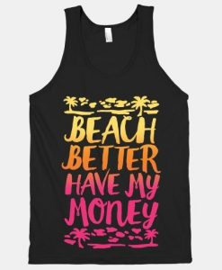 Beach Better Tank Top SR17J0
