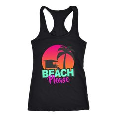 Beach Please Tanktop EL20J0
