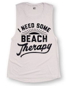Beach Therapy tank top SR21J0