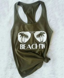 Beach'in Tank Top SR13J0