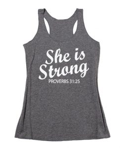 She Is Strong TankTop DL30J0