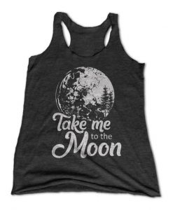Take Me To the Moon Tanktop Fd24J0