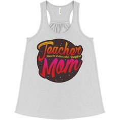 Teacher Mom Tanktop EL23J0