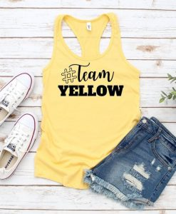 Team Yellow Racerback Tanktop FD21J0