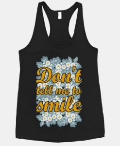 Tell Me To Smile Tank top SR22J0