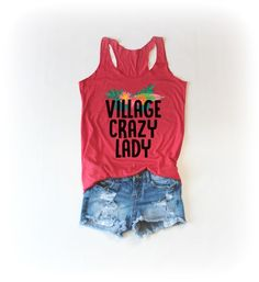 Village Crazy Lady Tanktop EL22J0